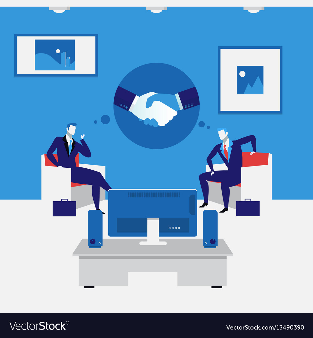 Business people handshake concept
