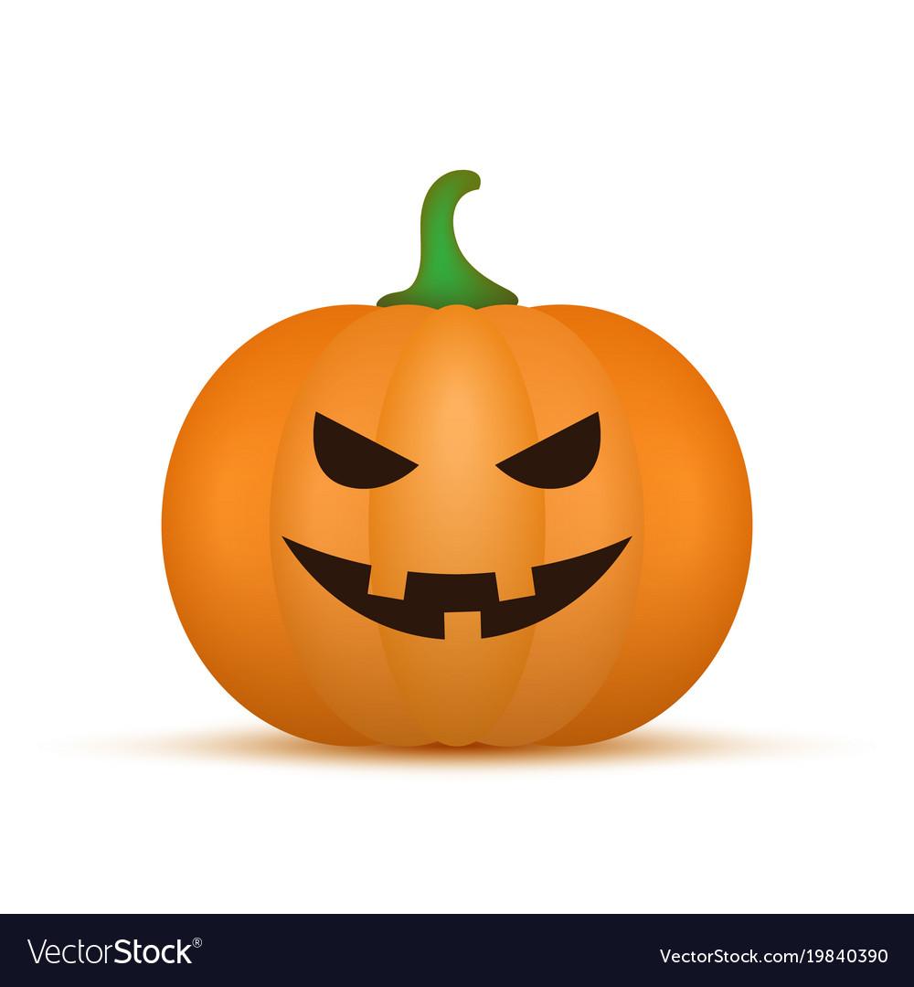 cartoon halloween pumpkin pumpkin royalty free vector image