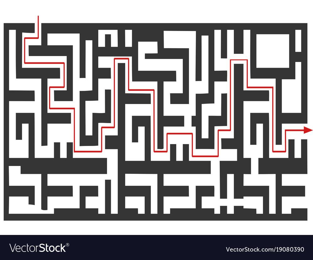 Maze puzzle background