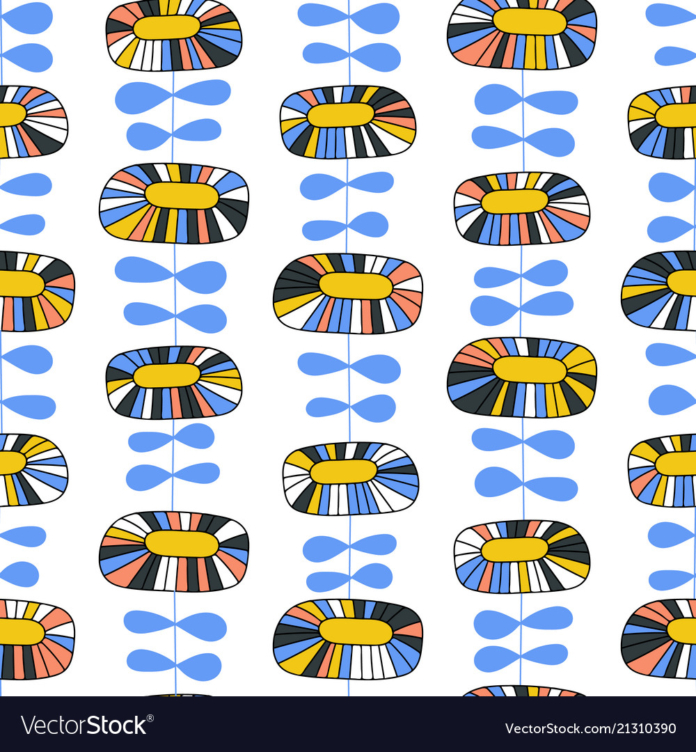 Simple scandinavian seamless pattern
