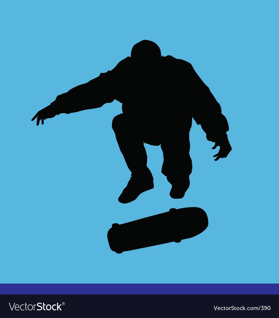 Skater kick flip