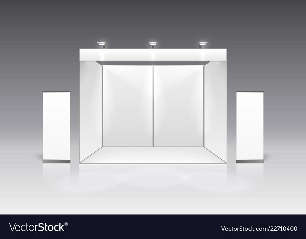 Scene show podium for presentations