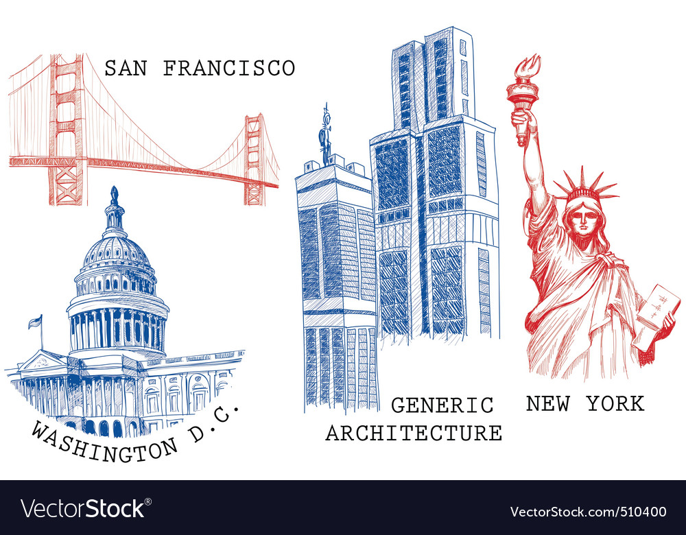 Usa famous cities