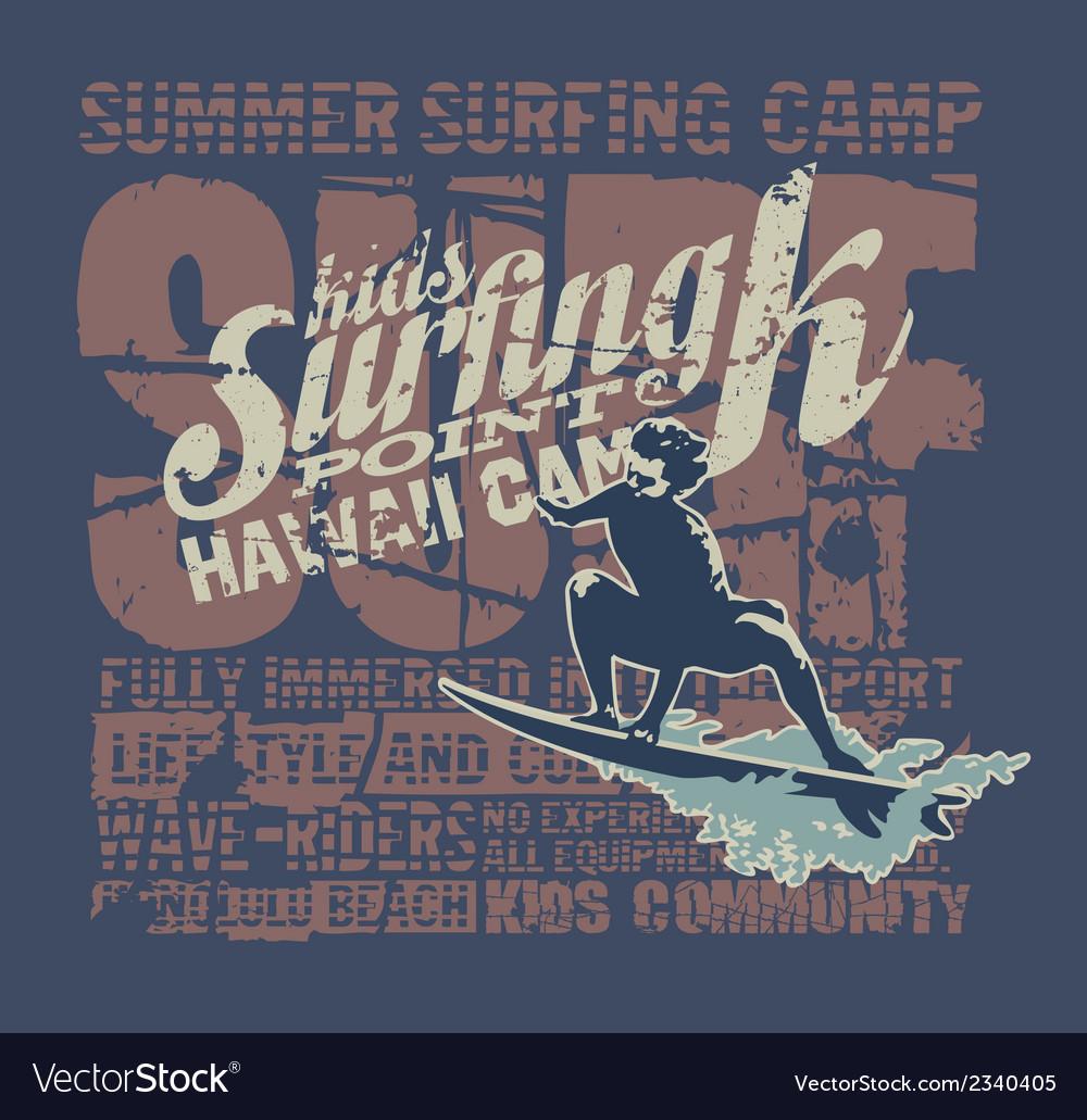 Hawaii surfing camp