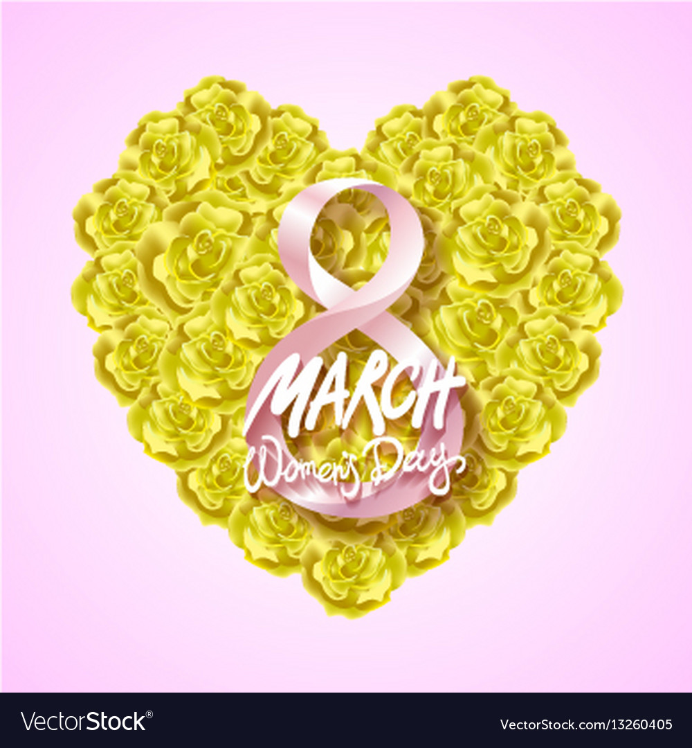 Modern valentines day or 8 march background vector image