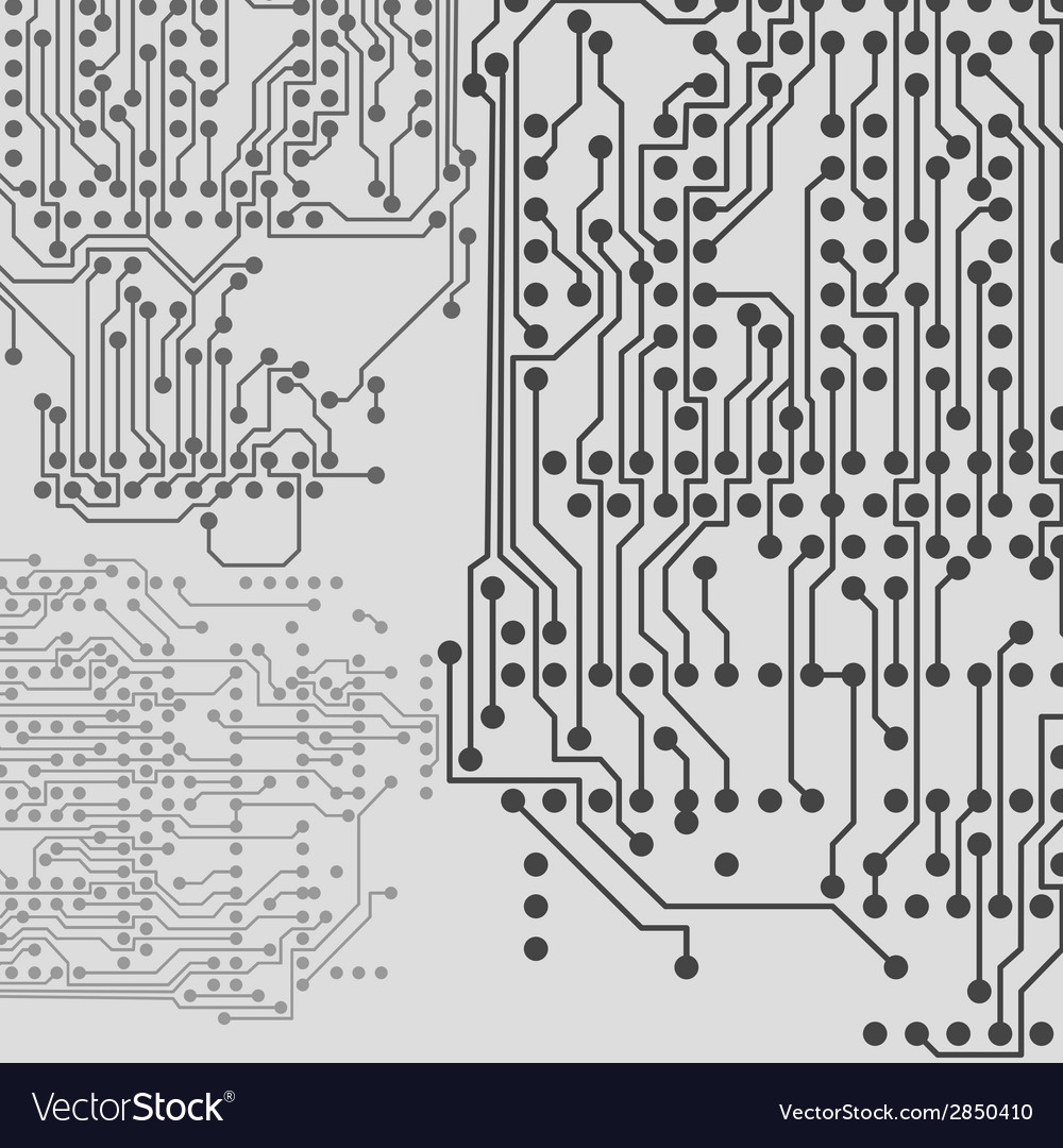 Microchip Background Electronic Circuit Eps10 Vector Image And Electronics
