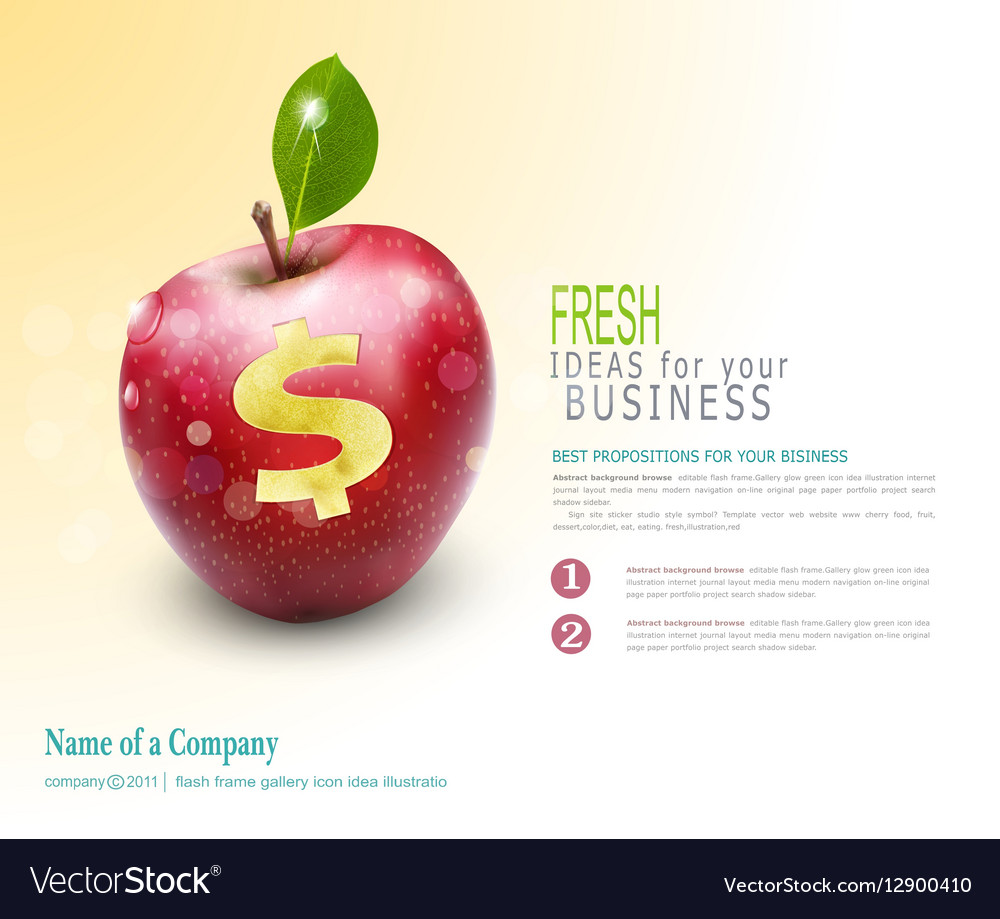 Template for business Apple