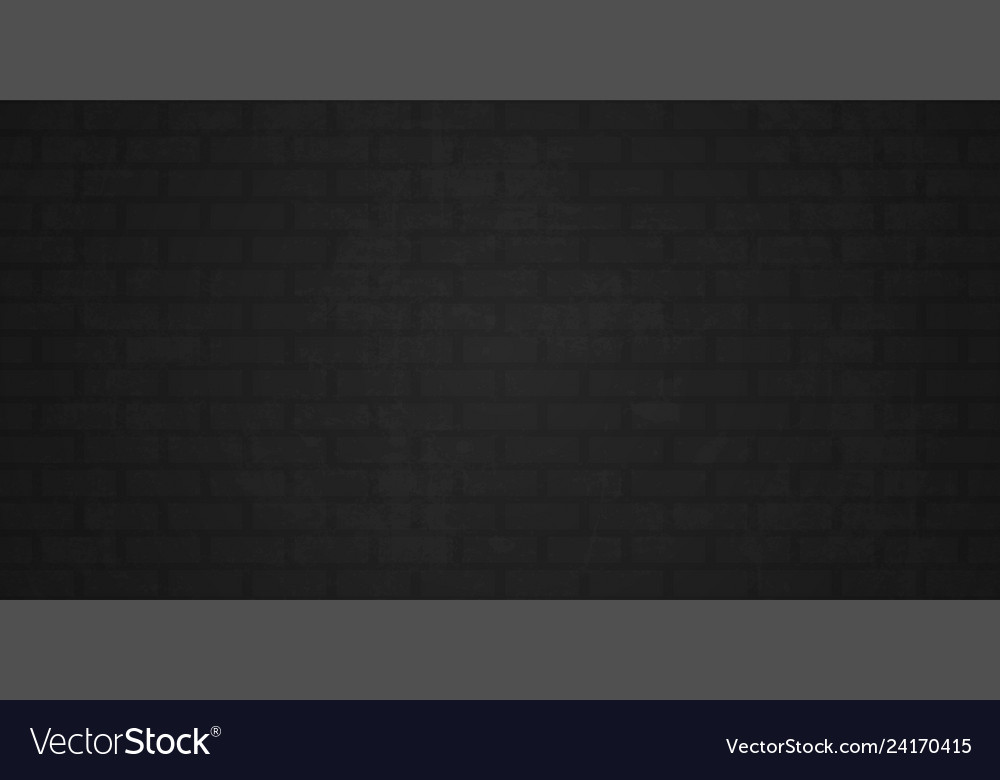 Brick wall background black gray grunge brick