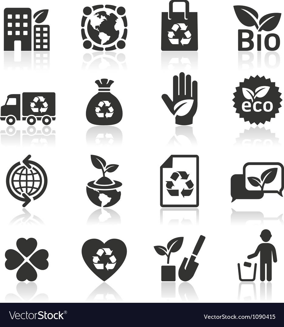 Ecology icons set4