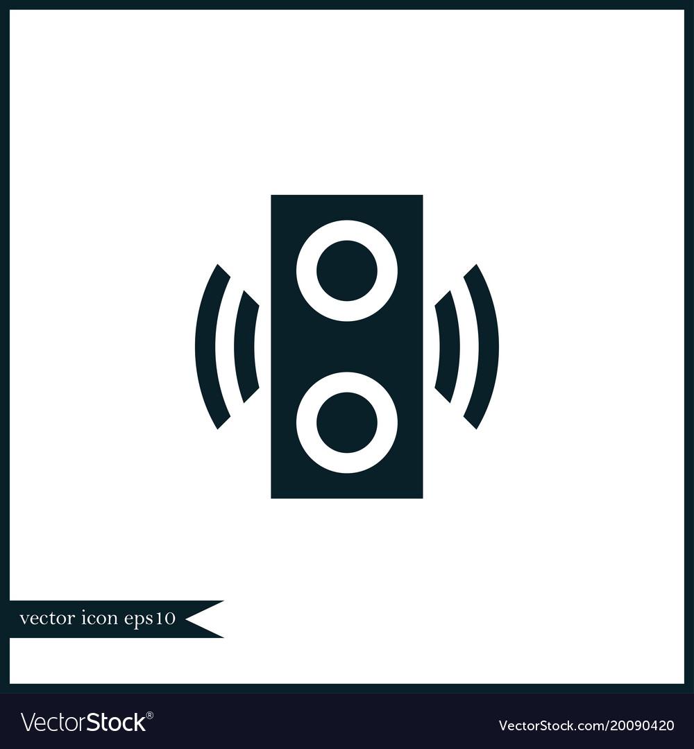 Speaker icon simple