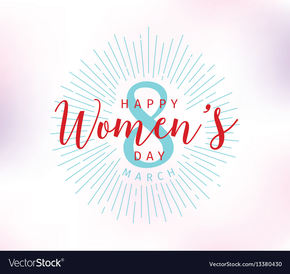 8 march womens day background