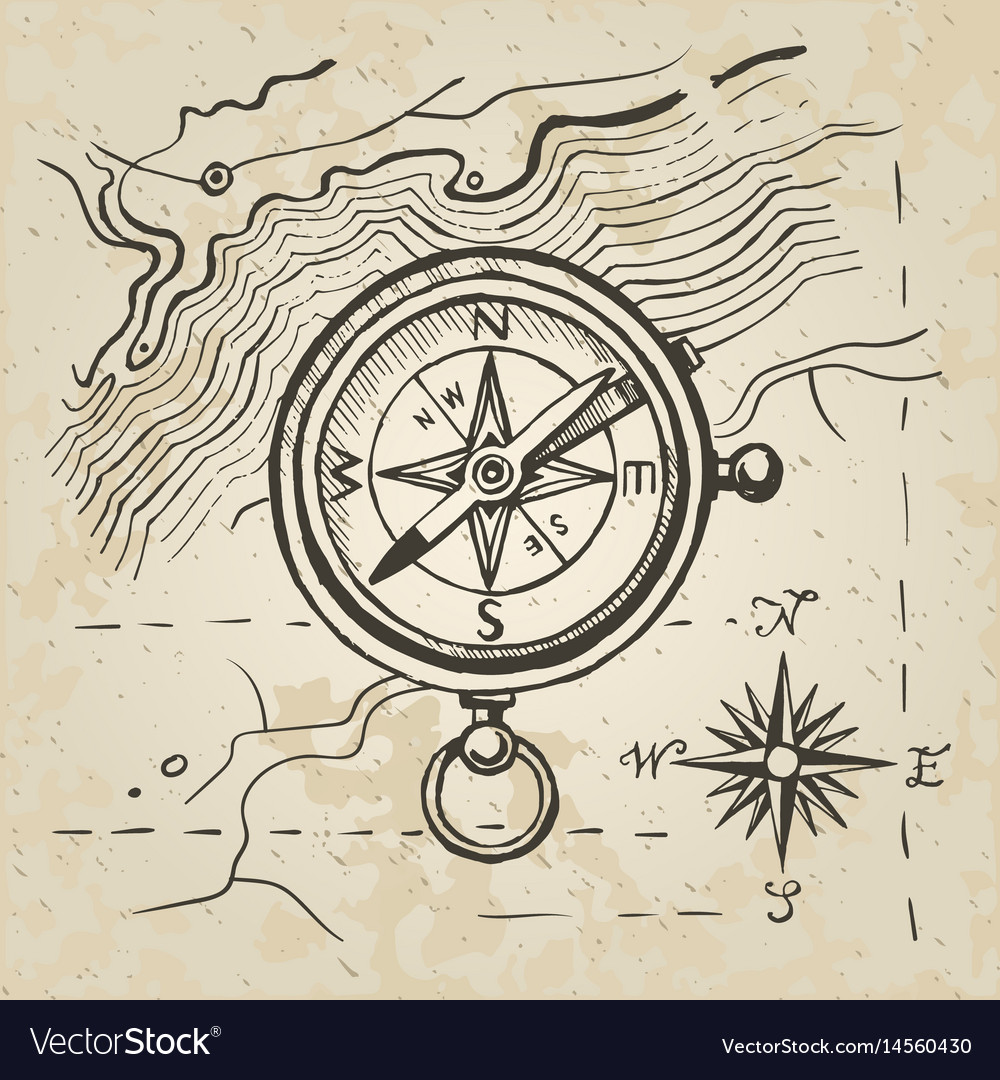 Sketch of the compass