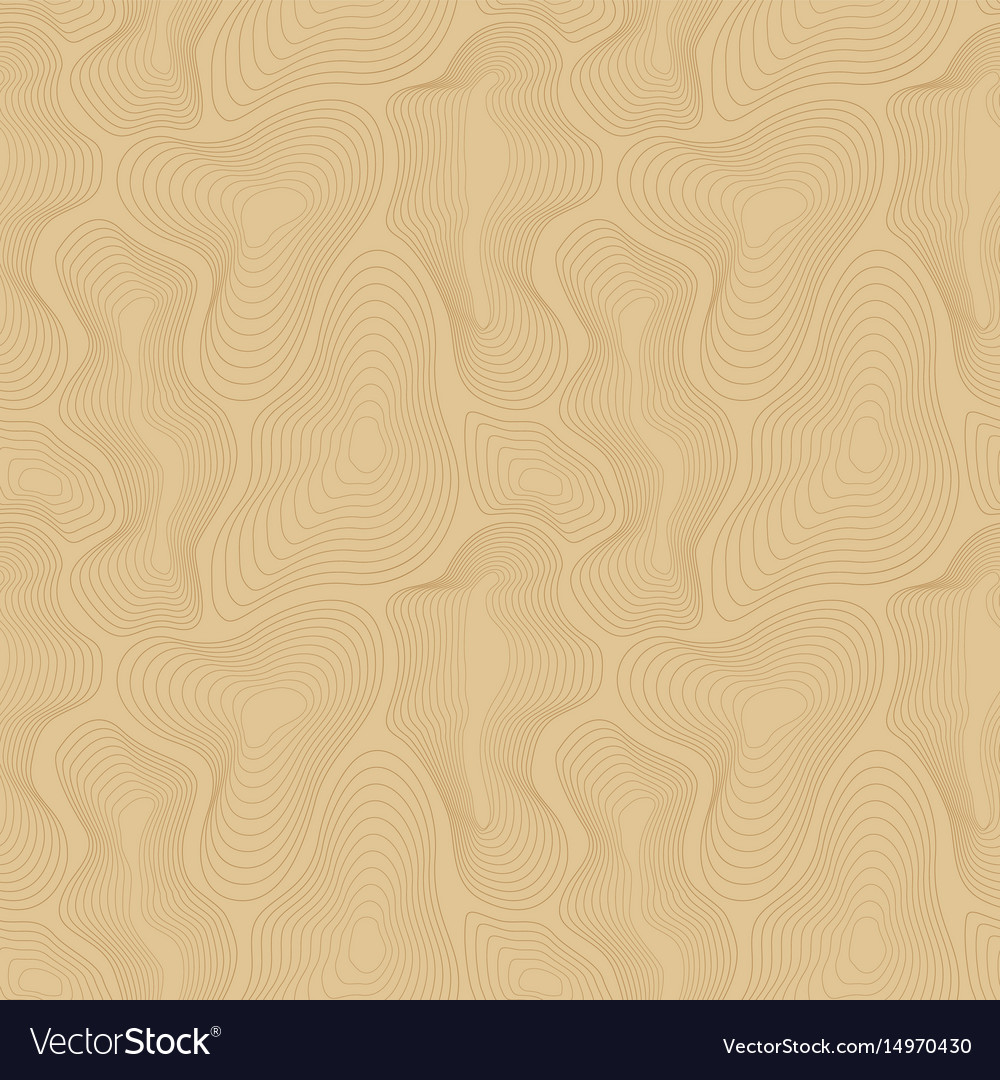 Topographic map seamless pattern curved