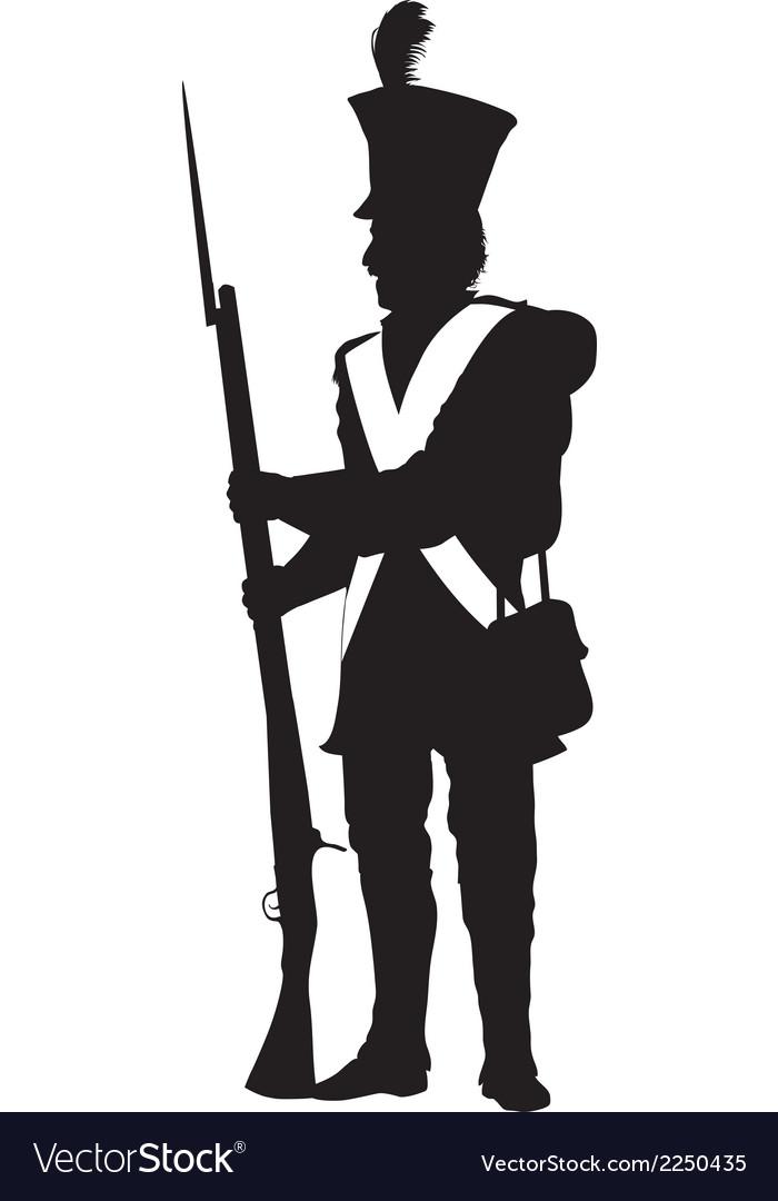 Vintage soldier warriors theme