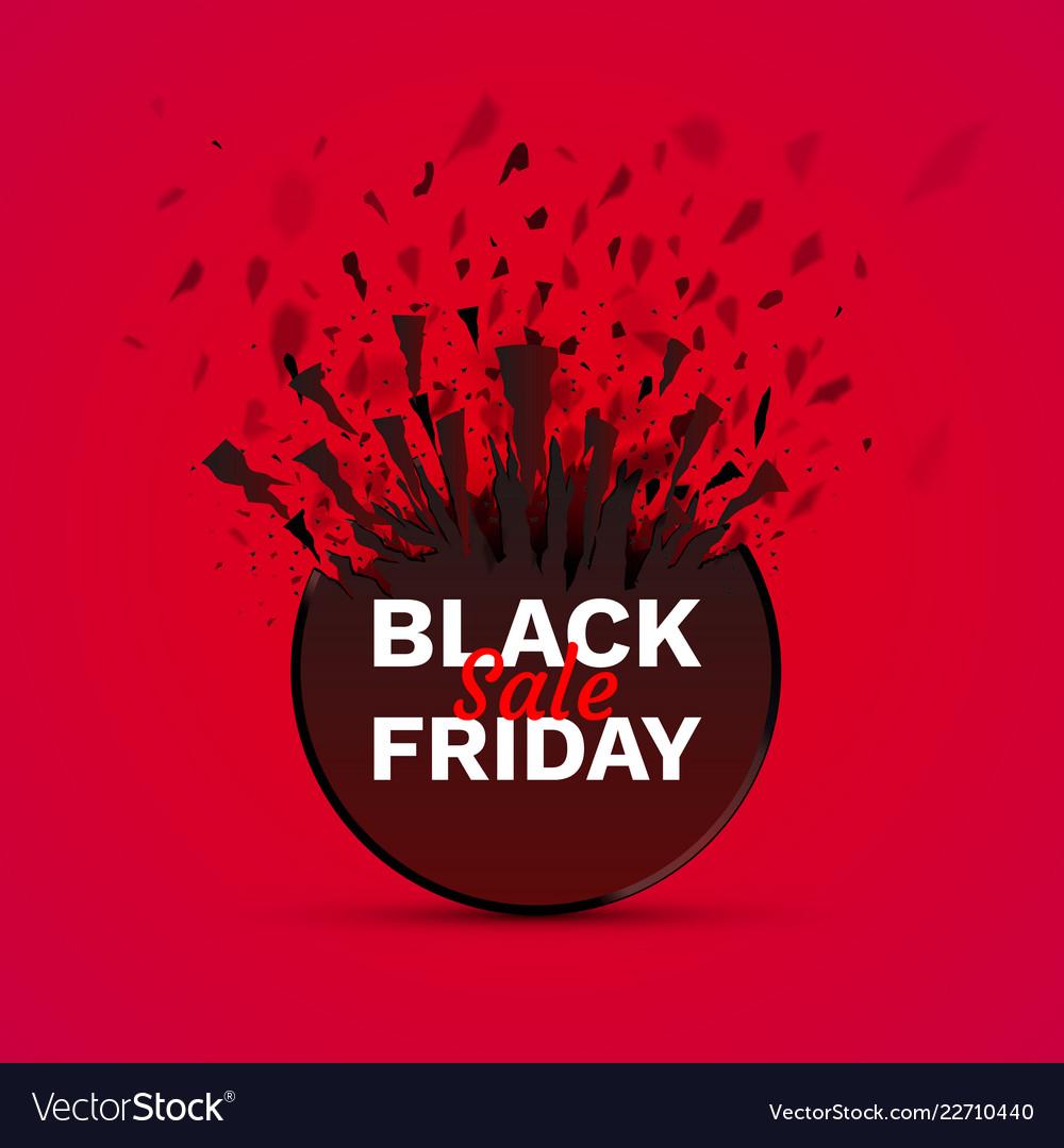 Black friday big sale seasonal banner sales