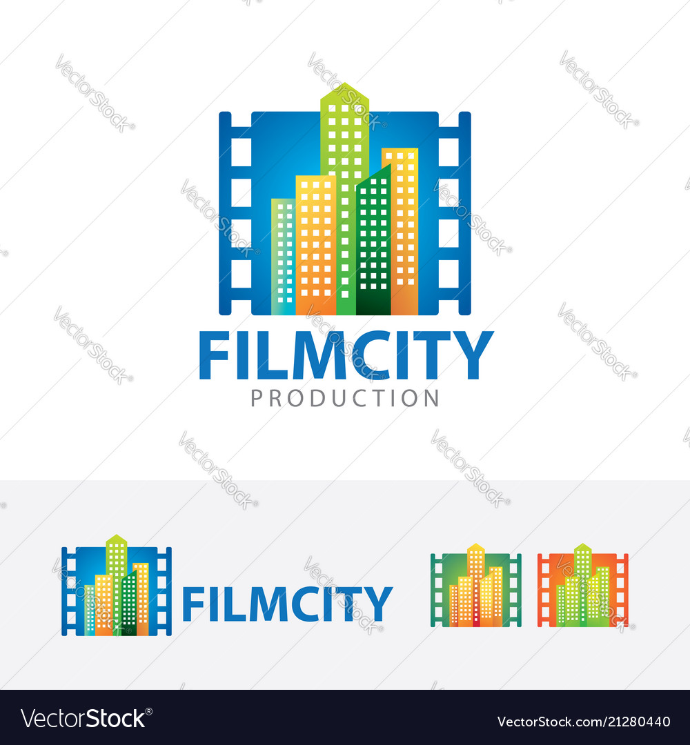 Film city logo design
