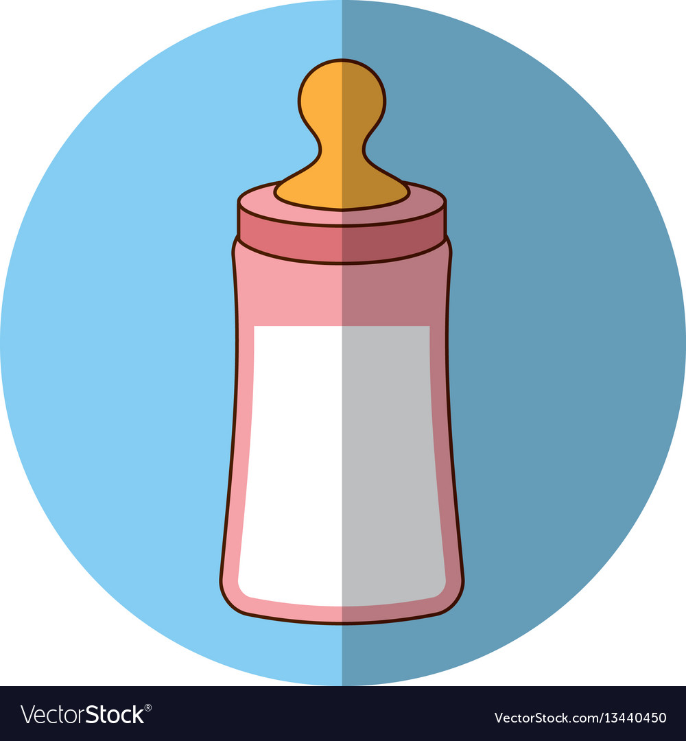 Bottle milk baby icon