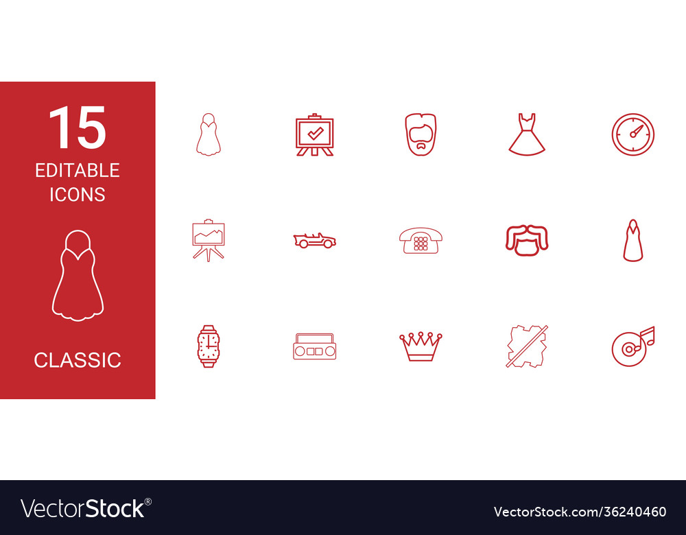 15 classic icons