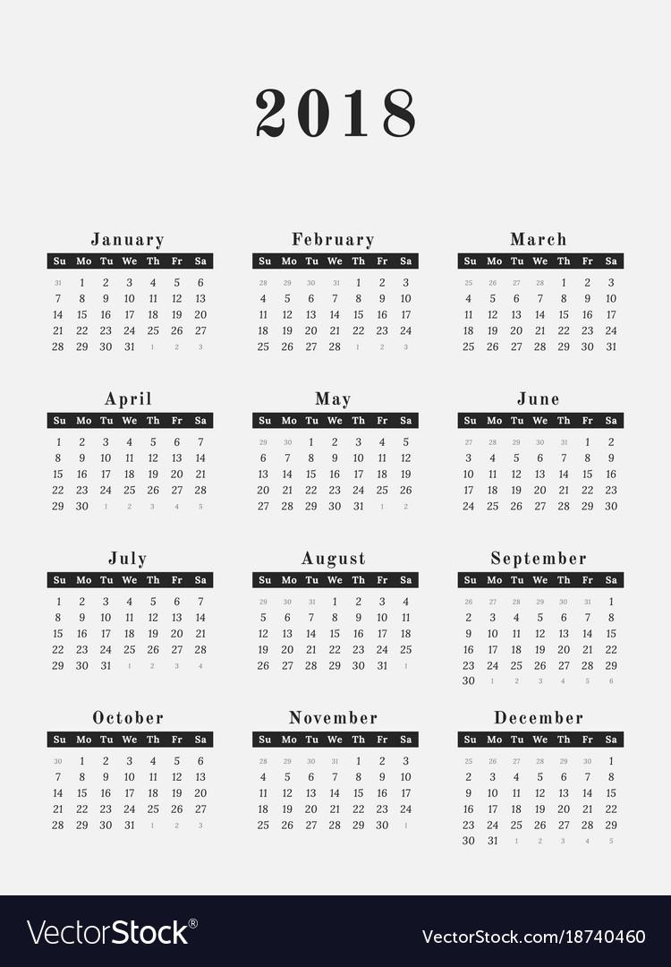 weekly yearly calendar