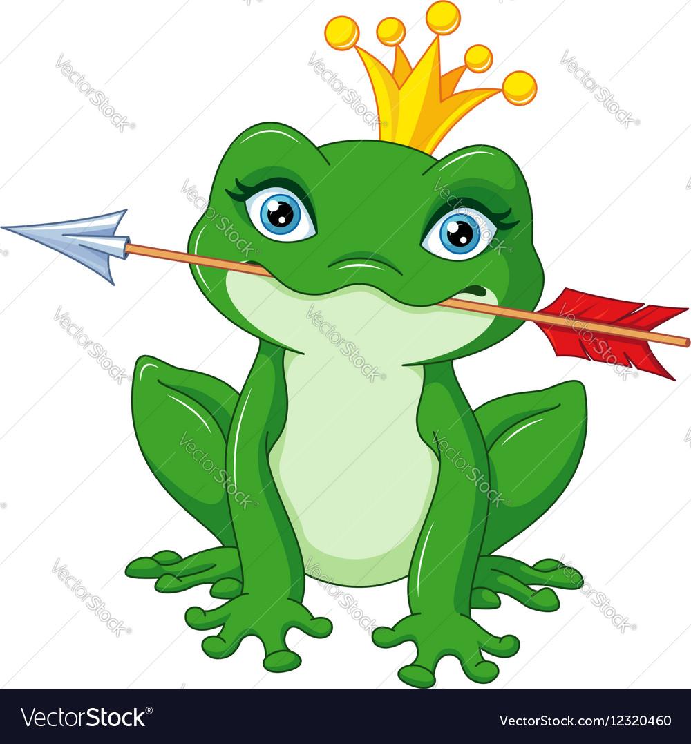 Frog Princess Royalty Free Vector Image Vectorstock