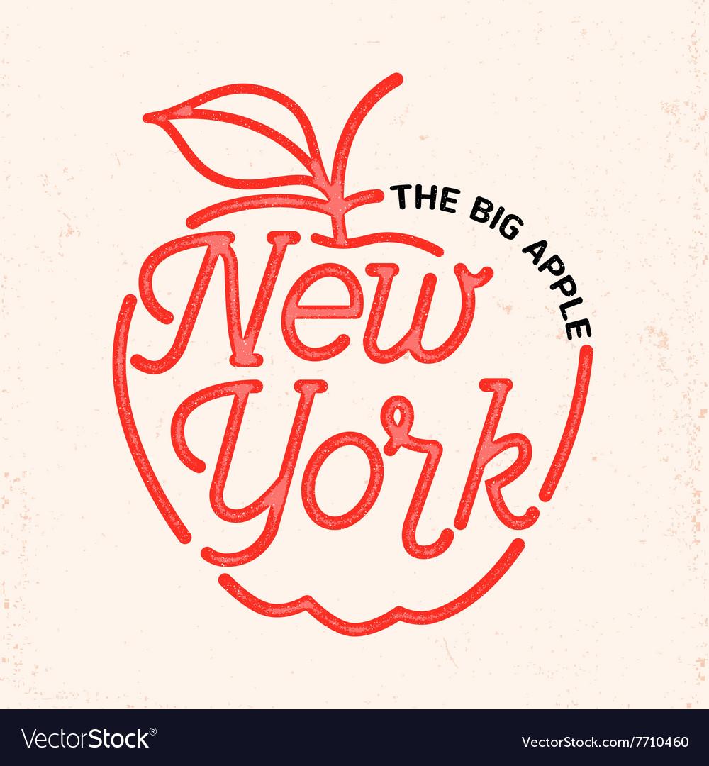 New york city line art design