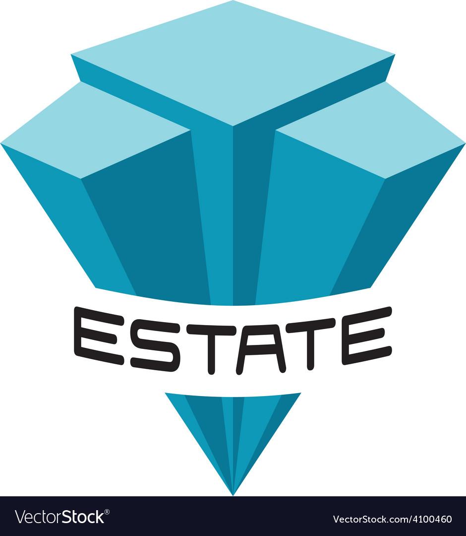 Real estate buildings logo template