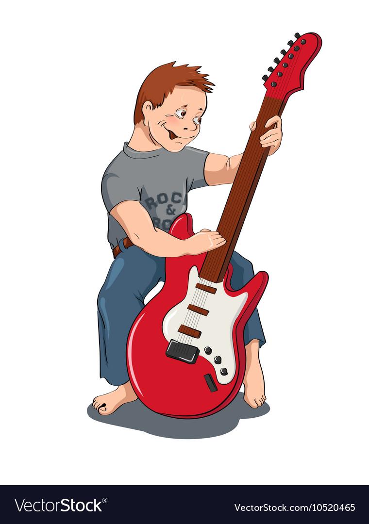 Boy with gitar