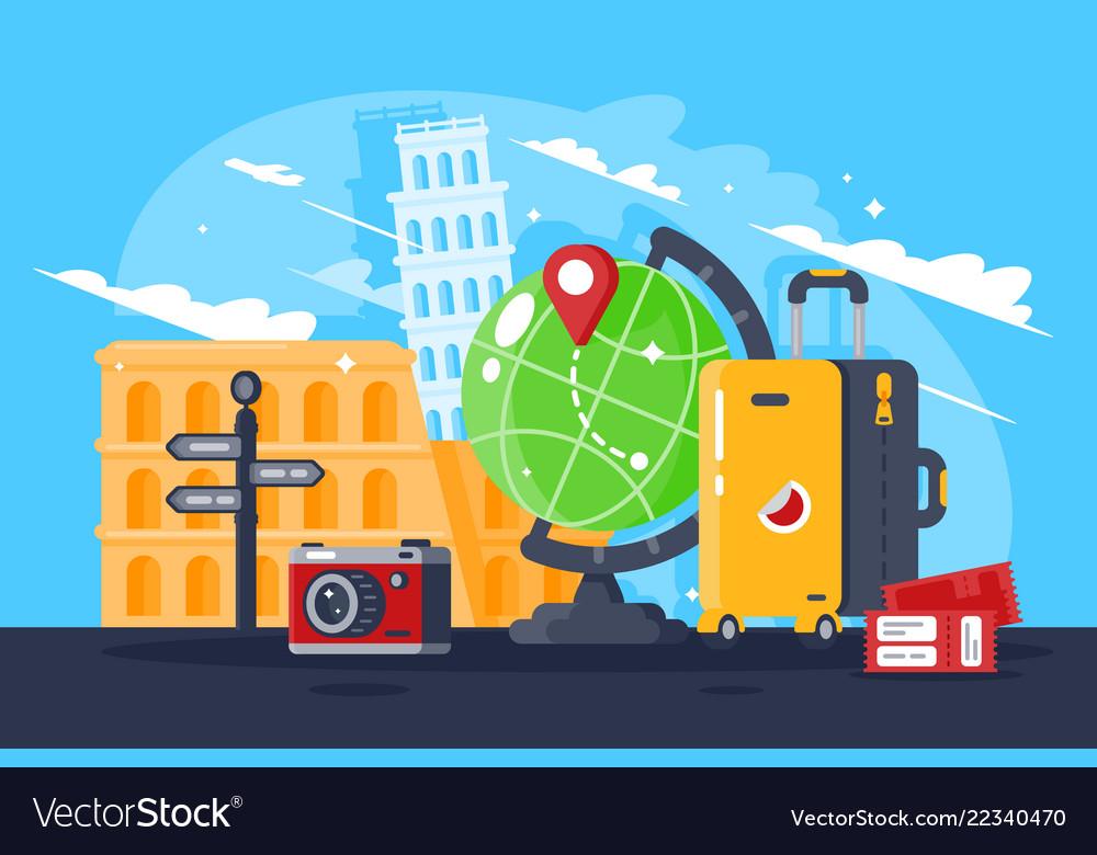 Great trip around the world