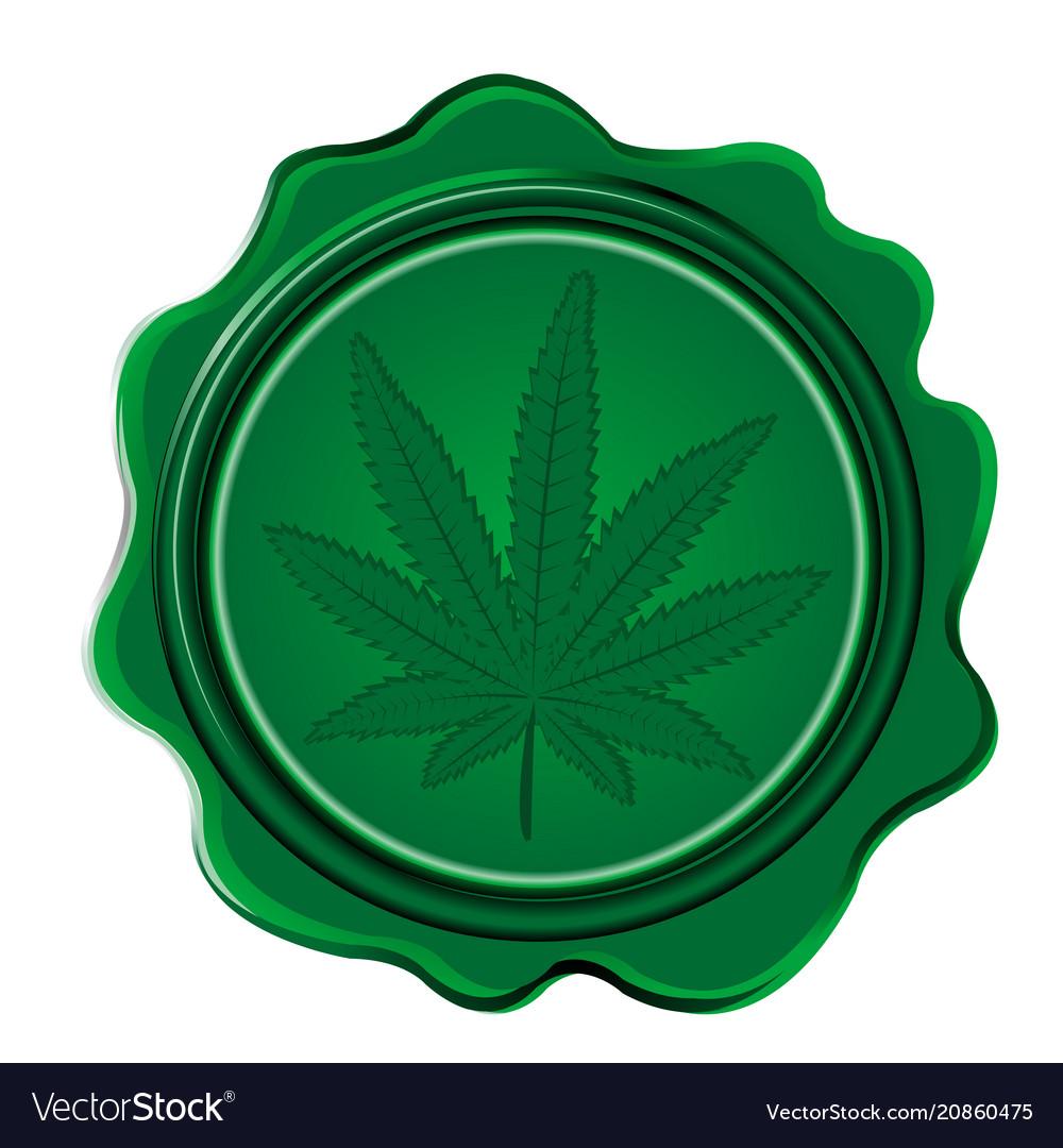 Marijuana wax seal