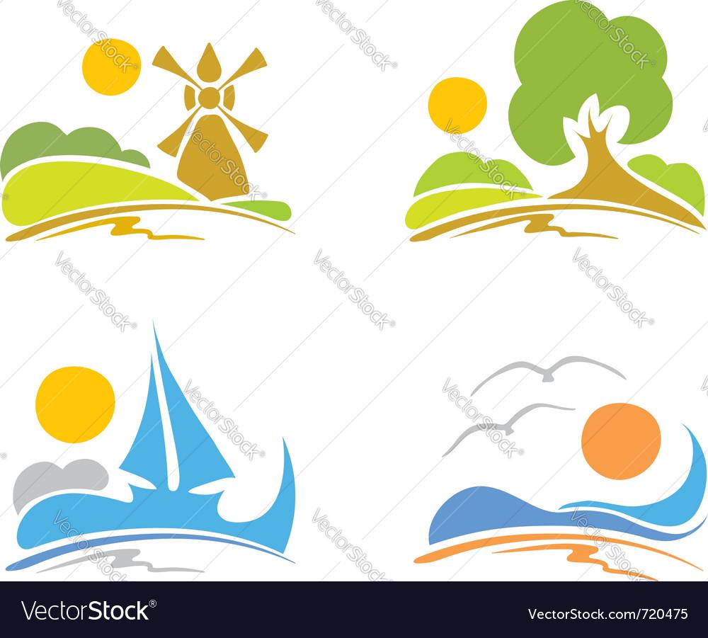 Signs - summer sea nature