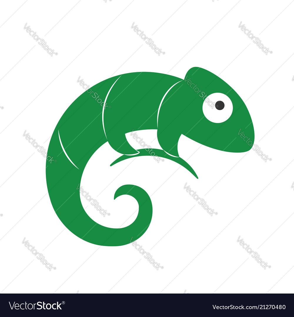 Lizard symbol logo template
