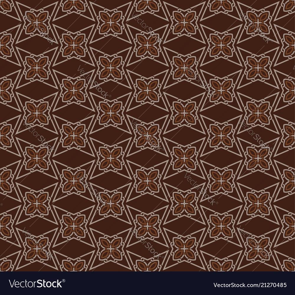 Seamless pattern decorative symmetries ornament