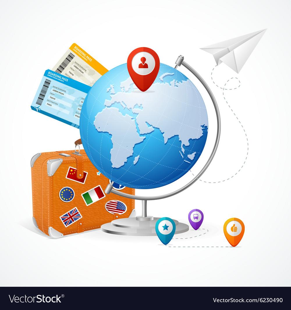 Travel Concept Globe