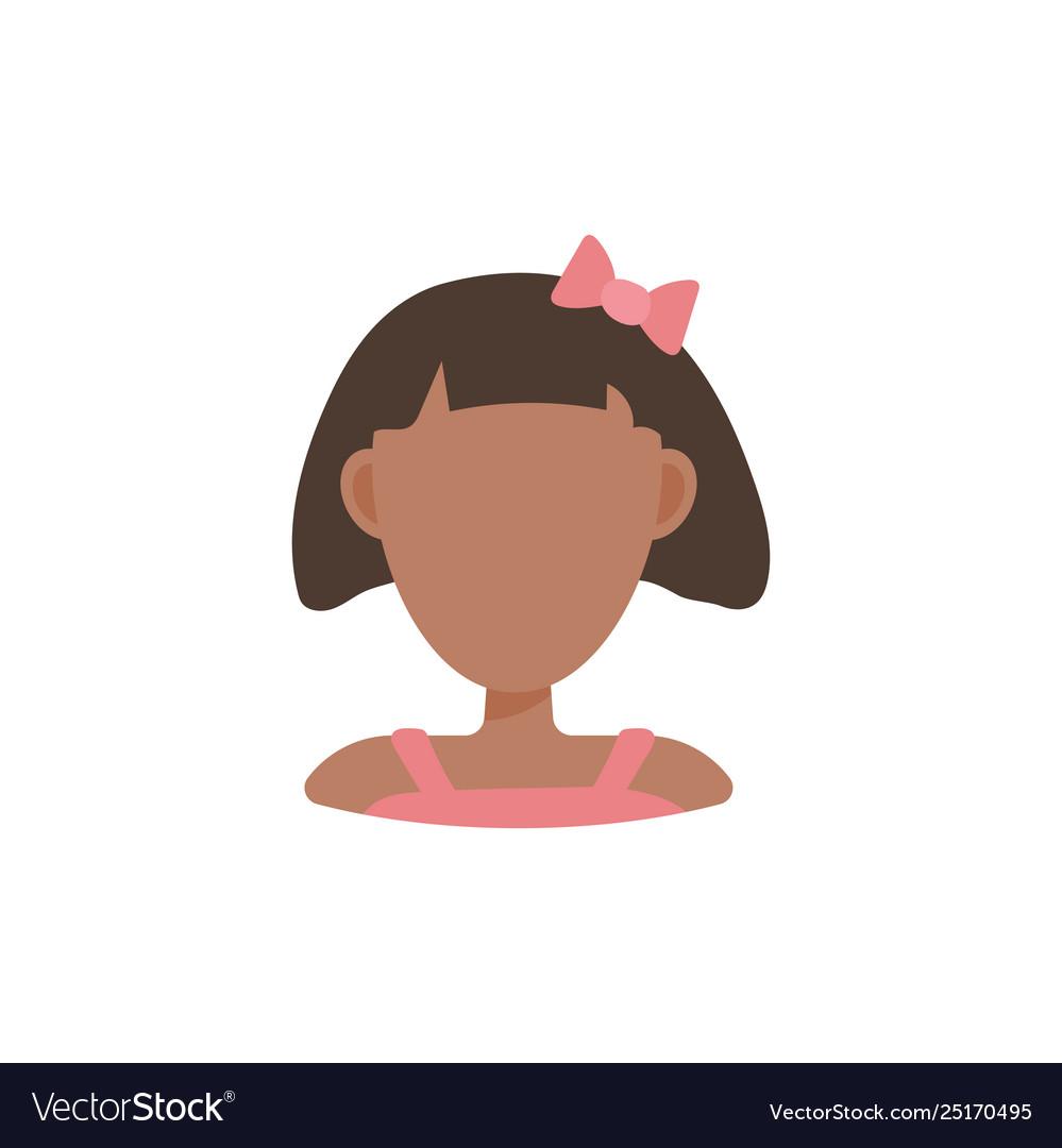 Female user avatar profile picture icon