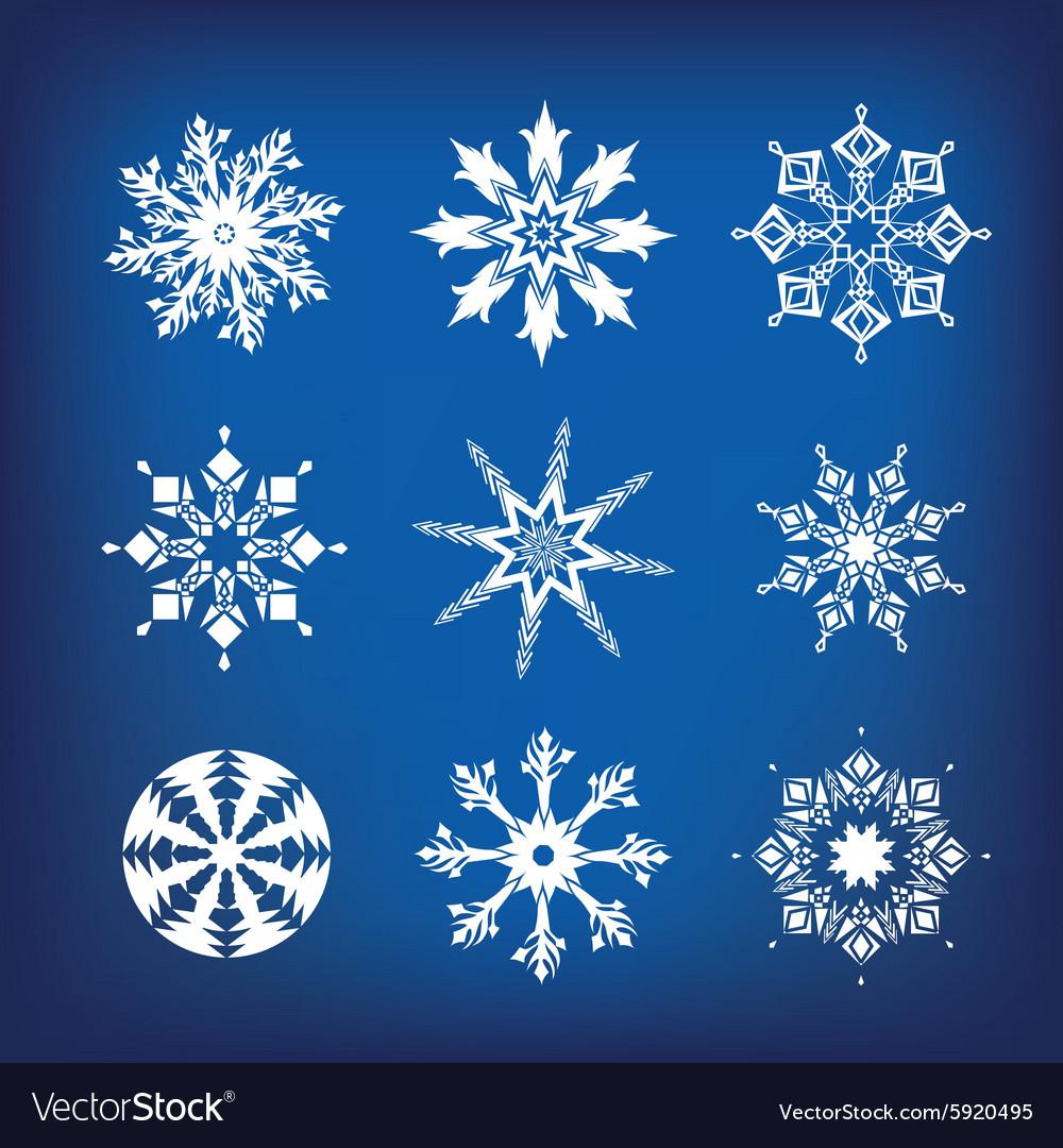 Snowflakes a