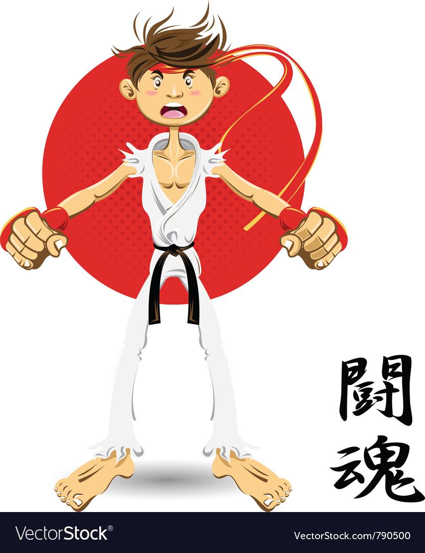 Martial art black belt