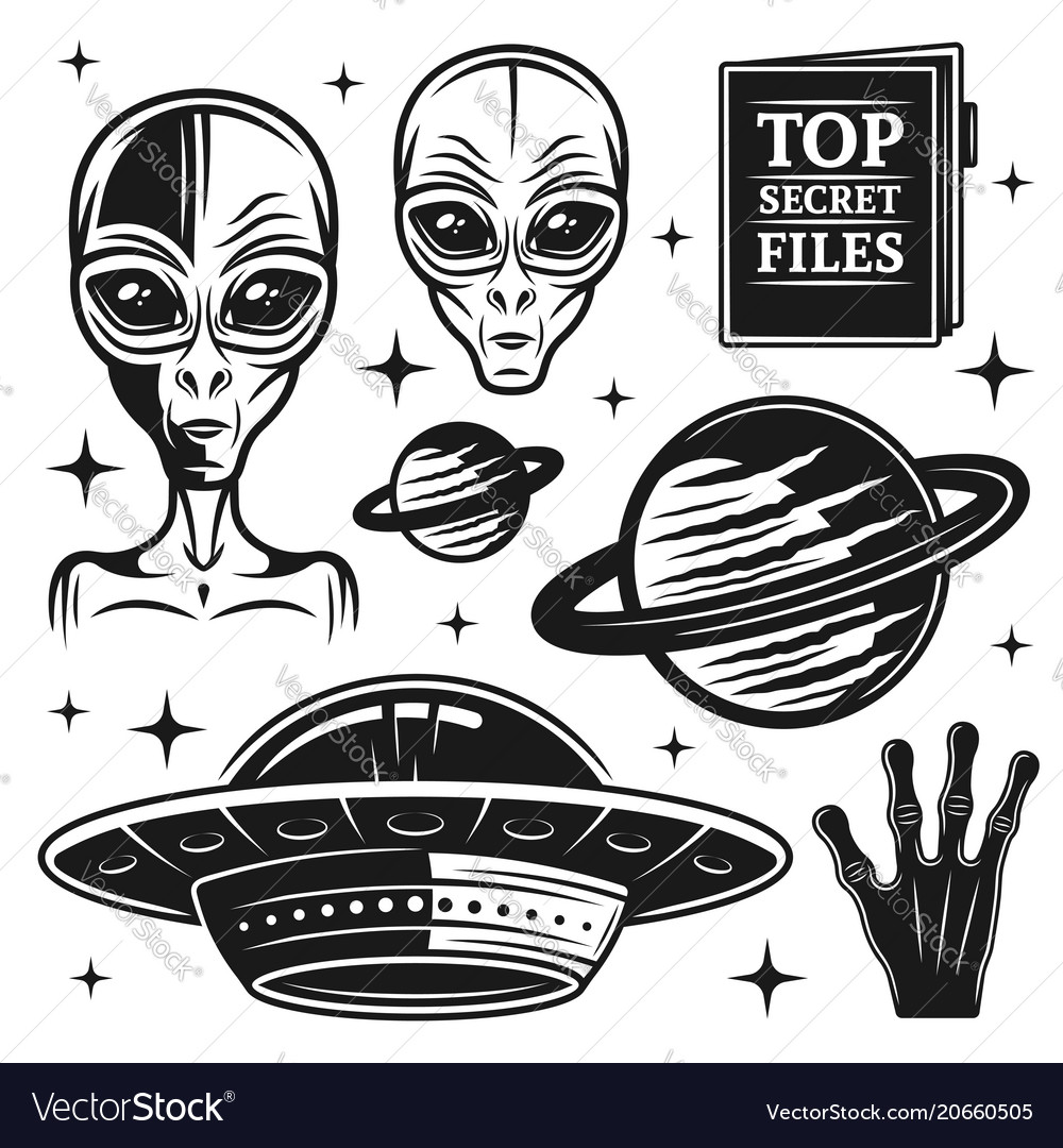 Aliens and ufo set paranormal activity elements