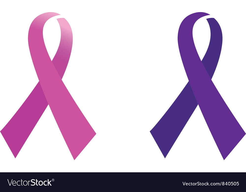 awareness pink ribbon royalty free vector image rh vectorstock com pink cancer ribbon vector pink ribbon vector free download