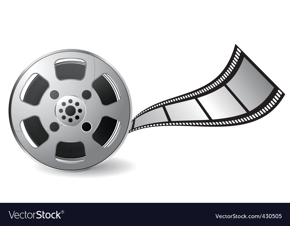 film reel royalty free vector image vectorstock rh vectorstock com film reel vector image film reel vector black and white
