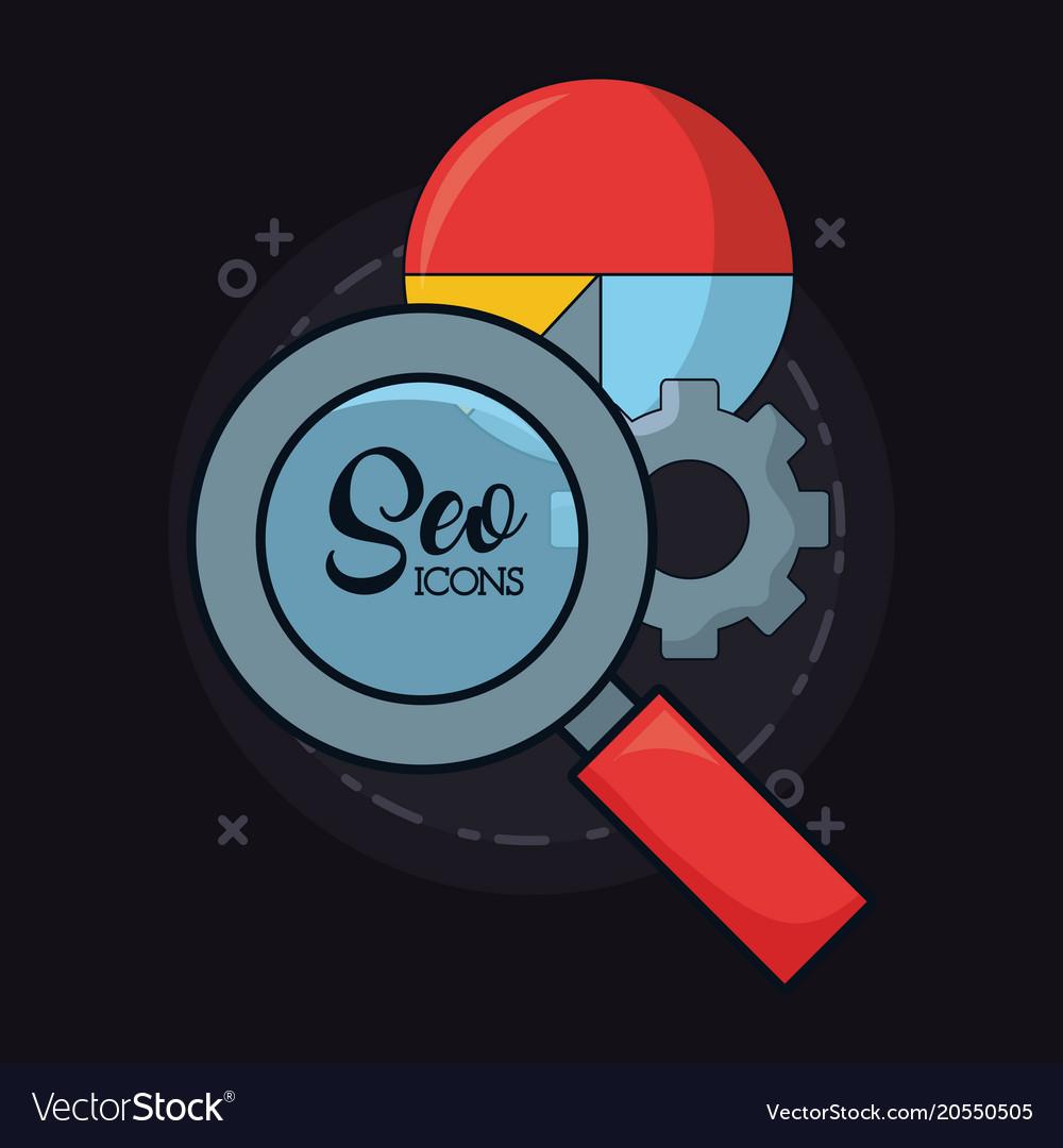 Seo icons design