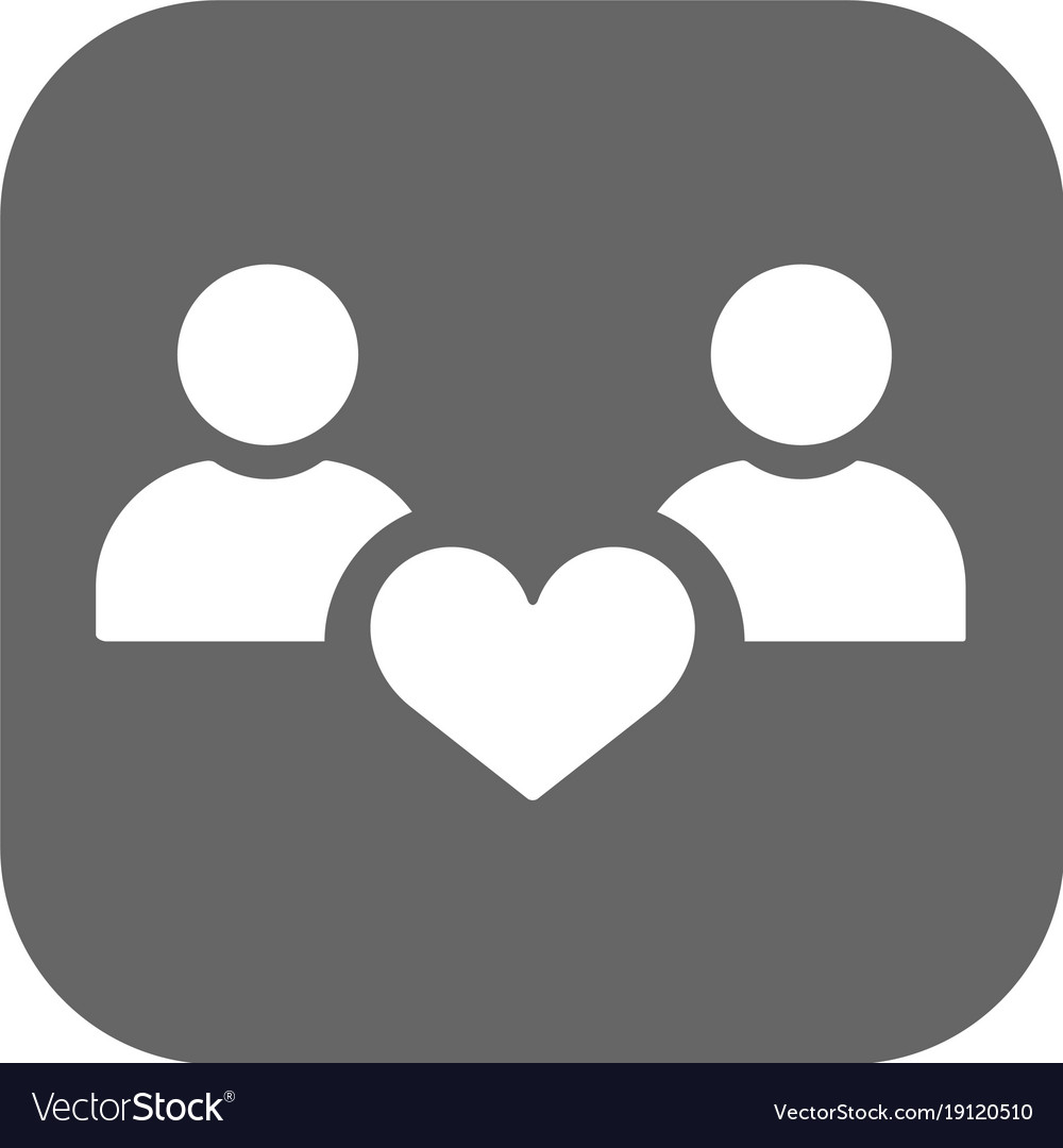 People with hearts - couple family and health