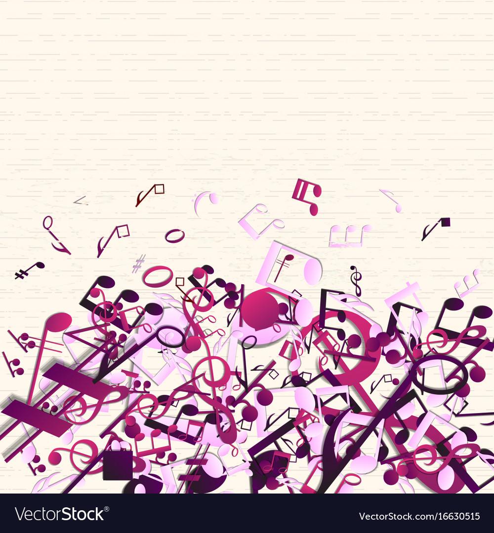 Art Design Music Background
