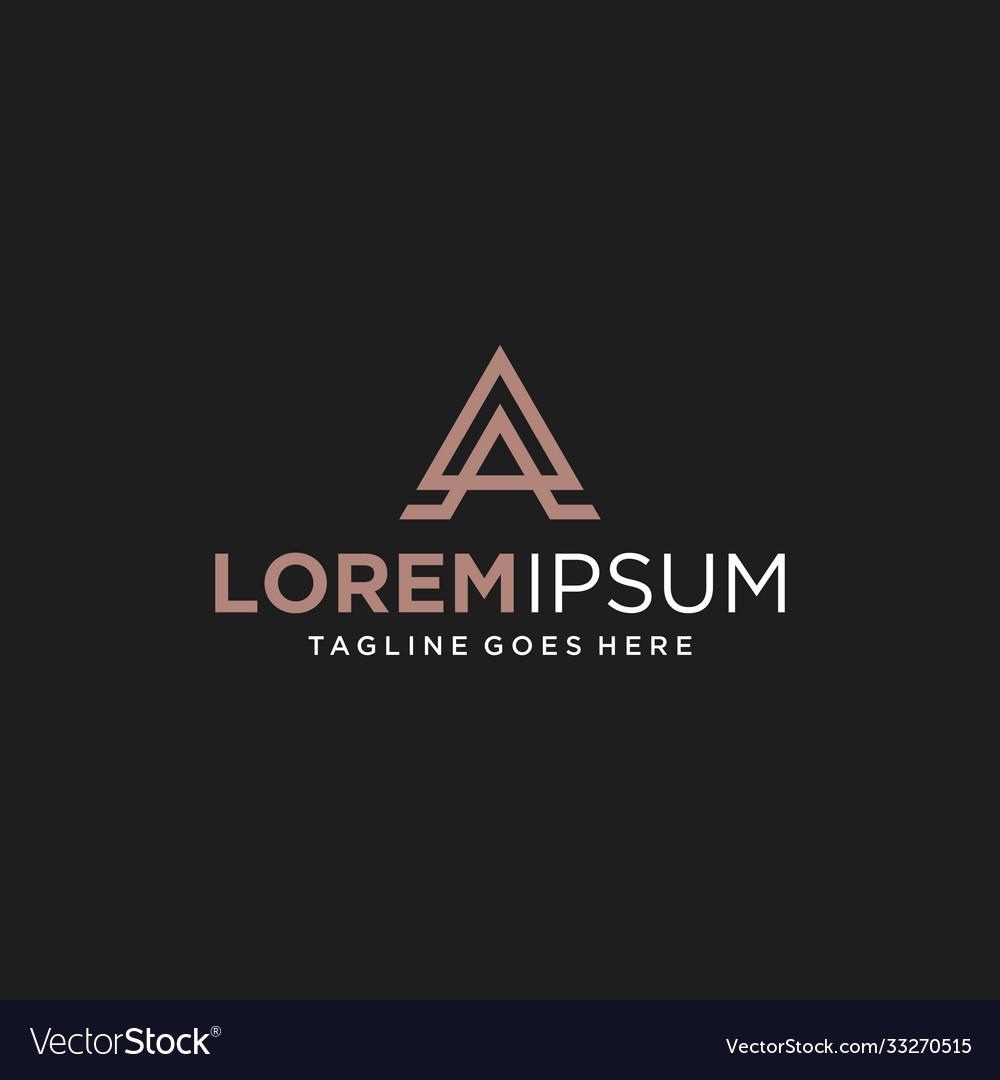 Letter a logo design inspiration