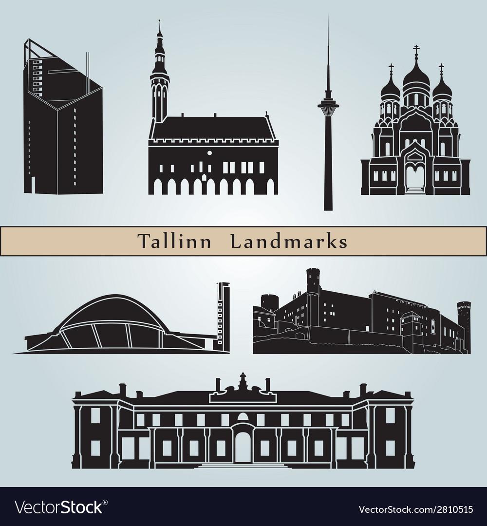 Tallinn landmarks and monuments