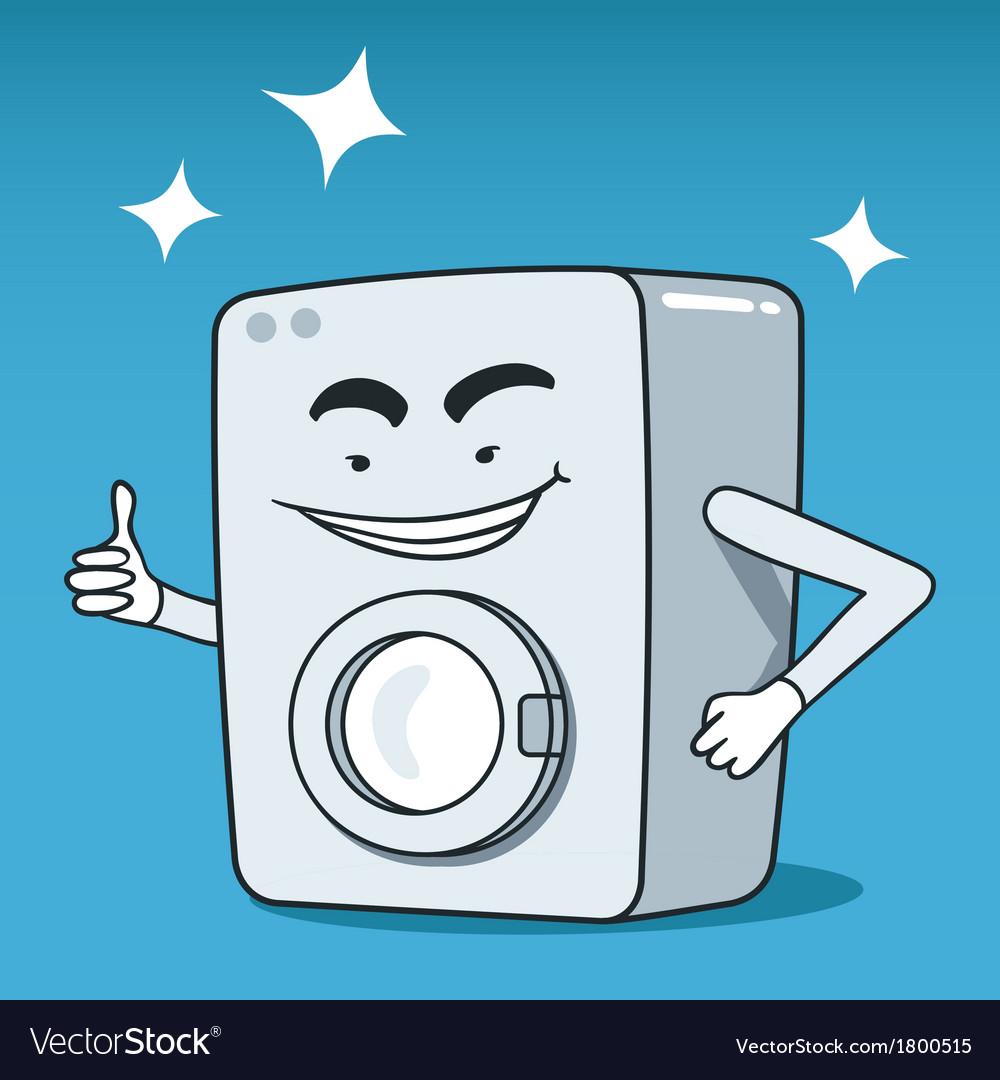Washing machine character