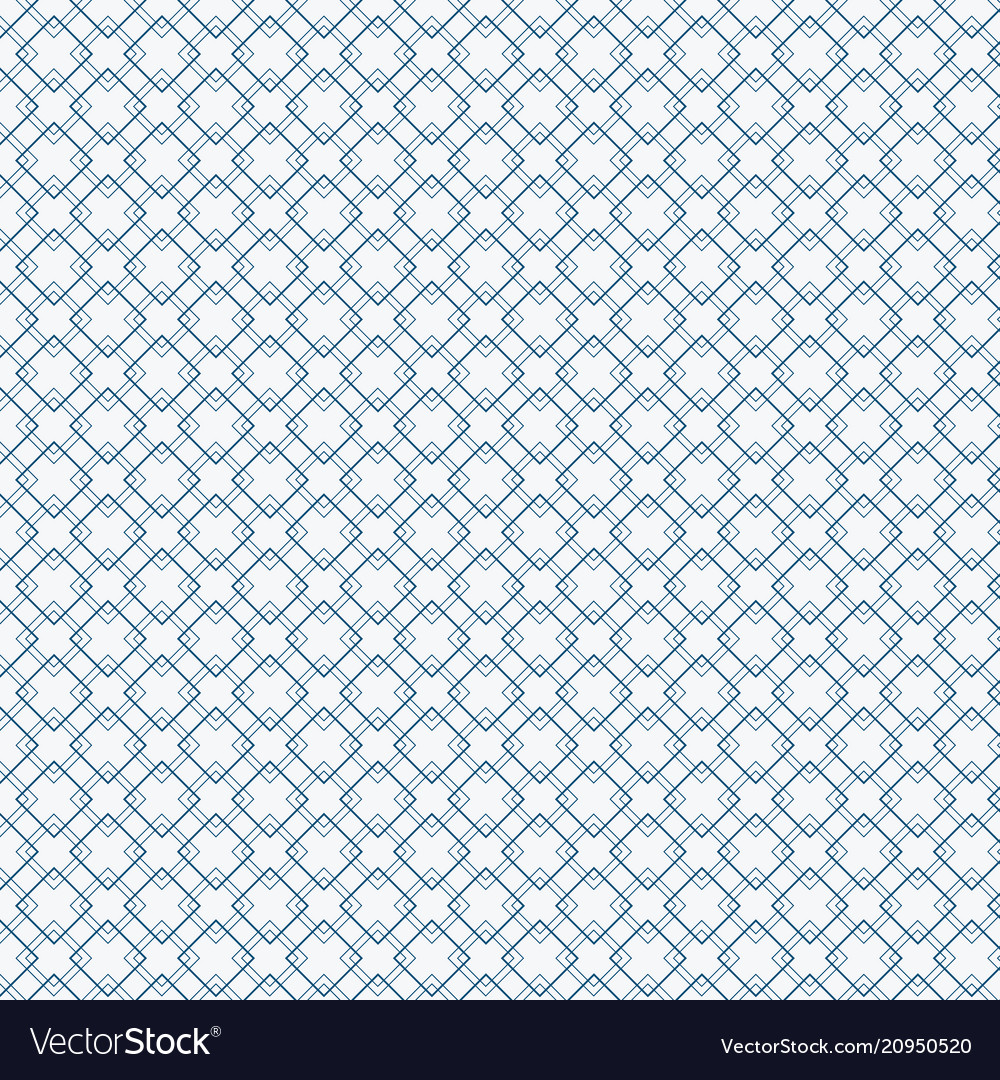 Abstract blue squares pattern on white background