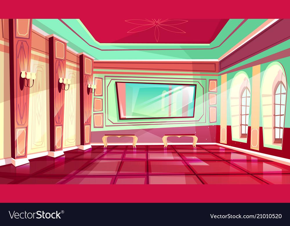 Ballroom of royal palace hall