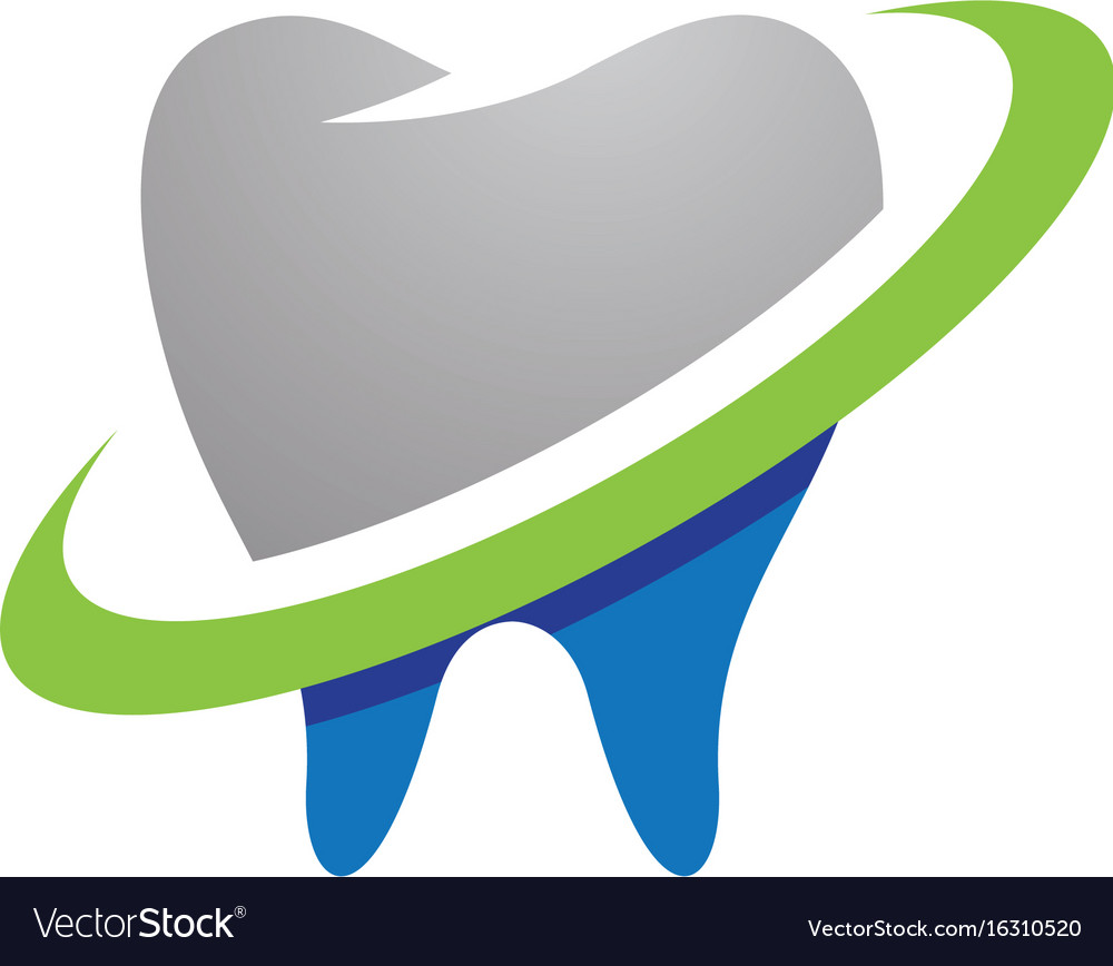 Dental logo template icon design