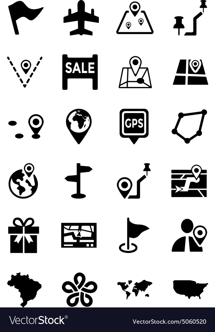 Maps And Navigation Icons 5