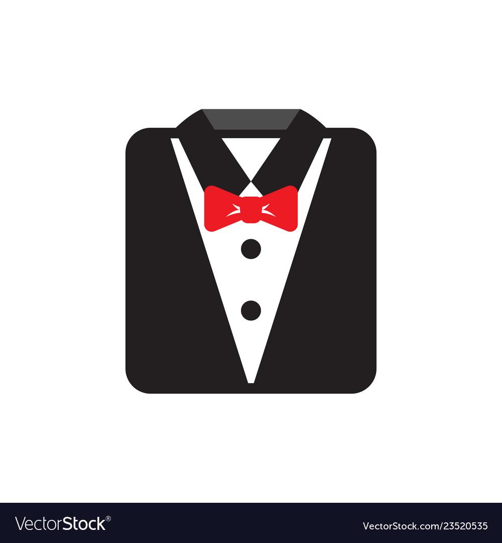 Suit icon graphic design template